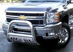 Chevrolet Silverado 2500 Hd 2011 Chervolet Silverado 2500 Hd Bull Bar 4Inch With Stainless Skid Plate Grille Guards & Bull Bars Stainless