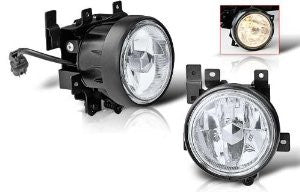 03-04 honda element oem style fog light - clear (wiring kit included) performance