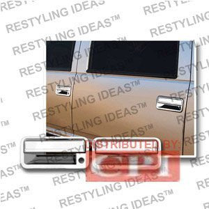 Gmc 1992-1999 Yukon Chrome Door Handle Cover 4D W/Passenger Side Keyhole Performance