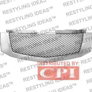 Cadillac 2007-2008 Cadillac Escalade Chrome Mesh Abs Grille Performance