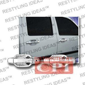 Isuzu 2006-2008 Truck Chrome Door Handle Cover 4D W/Passenger Side Keyhole Performance