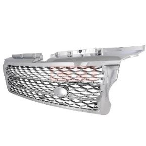 Range Rover 06-08 Range Rover L320 Front Grille Supercharged Look Chrome