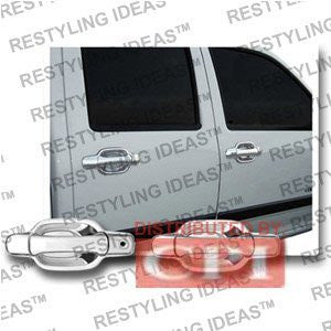 Isuzu 2006-2008 Truck Chrome Door Handle Cover 4D No Passenger Side Keyhole Performance