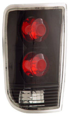 Chevrolet/Chevy Blazer 95-00 Tail Lamps / Lights Black Euro Performance
