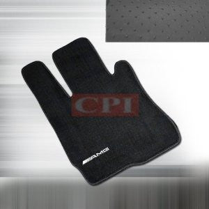 MERCEDES 07-11 W221 S CLASS FLOOR MAT WITH LOGO PERFORMANCE 1 SET RH & LH 2007,2008, 2009,2010,2011