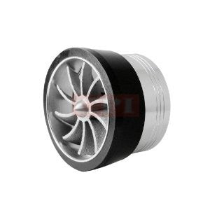 3 Inch Intake Single Side Turbo Fan - Black