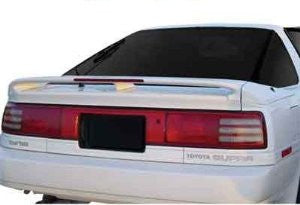 Toyota 1986-1992 Supra Factory 3-Pc W/Led Light Spoiler Performance-f