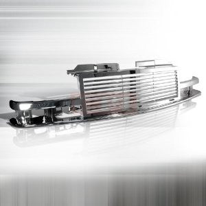 Chevrolet 1998-2002 Chevy S10 1Pc Front Grille - Chrome PERFORMANCE