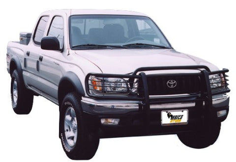 Ford Ranger 98-00 Ford Ranger One Piece Grill/Brush Guard Black Grille Guards & Bull Bars Stainless Products Performance 1998,1999,2000