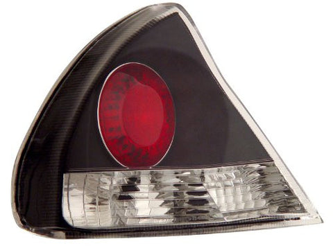 Xmitsubishi Mirage 99-02 Tail Lamps / Lights Black Euro Performance