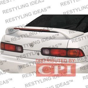 Acura 1994-2001 Integra 2D Custom Mid Wing Style W/Led Light Spoiler Performance