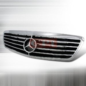 MERCEDES 1999-2003 BENZ S- CLASS FRONT HOOD GRILLE PERFORMANCE
