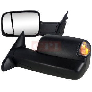 Dodge 10-Up Ram 2500 3500 Towing Mirrors Power Adjustment With Heated Function