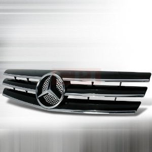Mercedes 1990-2002 Benz W129 S-Class Grille - Black Performance-m