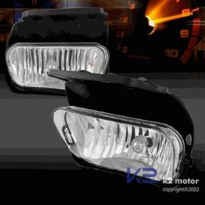 CHEVROLET/ CHEVY 03-06 CHEVY SILVERADO - CHROME OEM STYLE FOG LIGHTS/ LAMPS - APC   1 SET RH & LH 2003,2004,2005,2006