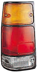 Isuzu Pu 88-95/Isuzu Rodeo 91-97/Isuzu Amigo  89-94 Tail Light  Blk Rh Tail Lamp Passenger Side Rh