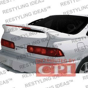 Acura 1994-2001 Integra 2D Custom 3-Pc Mid Wing Style W/Led Light Spoiler Performance