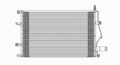 Volvo 01-07 Volvo 60 Series/70 Series/ 99-06 Volvo 80 Series Ac Condenser (Pfc) (1) Pc Replacement 2001,2002,2003,2004,2005,2006,2007