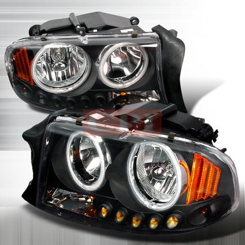 Dodge 1997-2003 Dodge Durango Dakota 1P Headlights/ Head Lamps-Euro Style-n