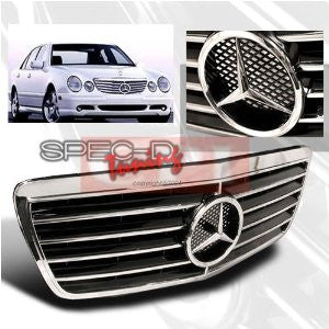Mercedes 2000-2002 Benz E- Class Front Hood Grille Performance-h