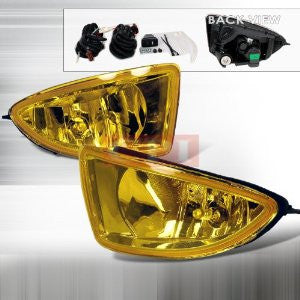 HONDA 2004-2005 HONDA CIVIC oem style FOG LIGHTS/ LAMPS YELLOW   1 SET RH & LH 2004,2005