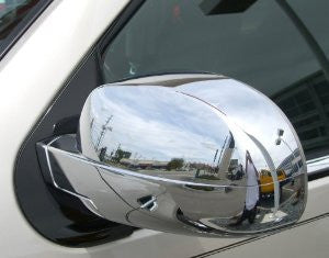 Gm Yukon 07-10 Gm Yukon Mirror Covers Chrome Accessories Side View Mirrors Performance 1 Set Rh & Lh 2007,2008,2009,2010
