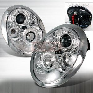Mini 2001-2005 Mini Cooper Projector Head Lamps/ Headlights