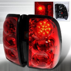 CHEVROLET/ CHEVY 02-07 CHEVY TRAILBLAZER - RED LED TAIL LIGHTS/ LAMPS - PERFORMANCE 1 SET RH & LH 2002,2003,2004,2005,2006,2007