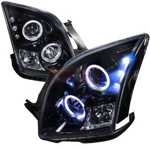 Ford 06-09 Fusion Projector Headlight Gloss Black Housing Smoke Lens Performance 1 Set Rh & Lh 2006,2007,2008,2009