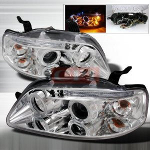 CHEVROLET 2004-2008 CHEVY AVEO 5DR PROJECTOR HEAD LAMPS/ HEADLIGHTS 1 SET RH&LH   2004,2005,2006,2007,2008
