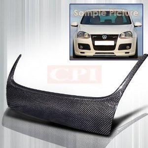 Volkswagen 2006-2008 Vw Golf Hood Grille Cover -Carbon PERFORMANCE