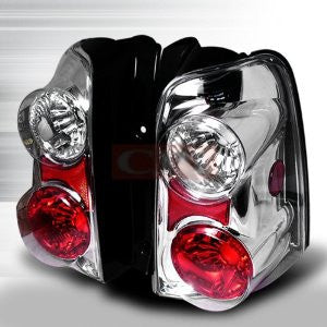 Ford 2001-2002 Ford Escape Tail Lights /Lamps - Chrome