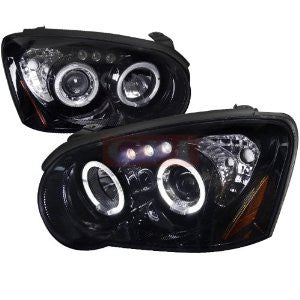 Subaru 04-05 Impreza Smoked Lens Gloss Black Housing Projector Headlights Performance 1 Set Rh & Lh 2004,2005