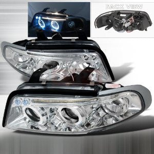Audi 1996-1999 Audi A4 Projector Head Lamps/ Headlights-f