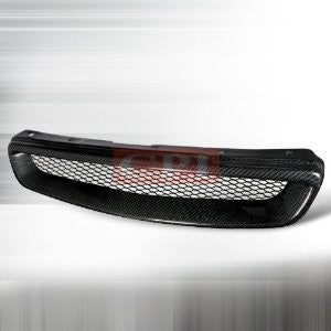 Honda 1996-1998 Civic Front Hood Grille - Type-R Performance