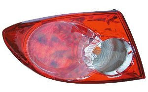 Mazda 6 (Factory Installed)4D  03- 05/Hatchback  04- 05 (On Body)Tail Light  Tail Lamp Driver Side Lh