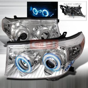 LAND 2008-2009 LAND CRUSIER CCFL PROJECTOR HEAD LAMPS/ HEADLIGHTS H.L 1 SET RH&LH   2008,2009