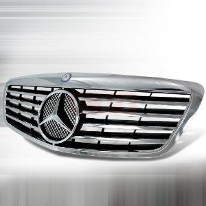 Mercedes 2006-2007 Mercedes Benz W221 S-Class Front Grille Sl Type PERFORMANCE