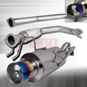 "Acura 02-06 Rsx Catback Exhaust System 2.5"" Piping PERFORMANCE"