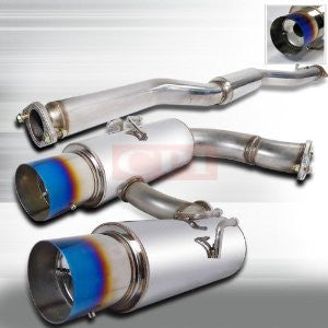 "Mitsubishi 03-06 Lancer Evolution Catback Exhaust System 3"" Piping PERFORMANCE"