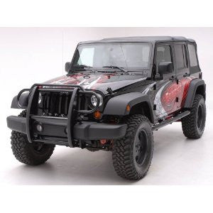 jeep wrangler 07-11 jeep wrangler modular gg, stainless 2&4wd grille