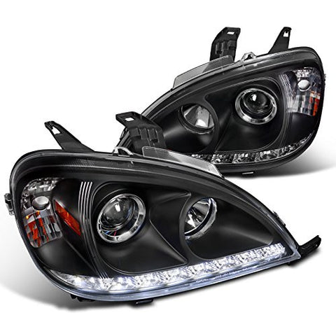 BENZ 02-05 BENZ ML PROJECTOR HEADLIGHTS BLACK