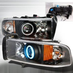 Dodge 1994-2001 Dodge Ram Projector Head Lamps/ Headlights