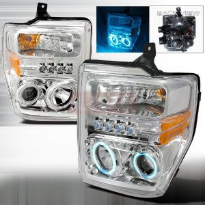 Ford 2008-2009 Ford F250/Superduty Projector Head Lamps/ Headlights-b
