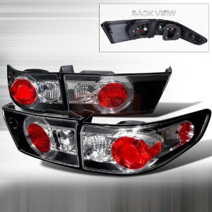 HONDA 2003-2004 HONDA ACCORD 4DR TAIL LIGHTS /LAMPS -EURO 1 SET RH&LH PERFORMANCE 2003,2004