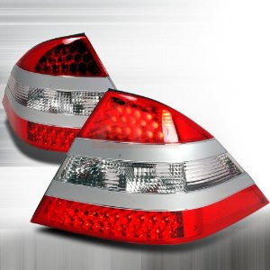 Mercedes Benz 1999-2004 Benz W220 S- Class Led Tail Lights /Lamps 1 Set Rh&Lh Performance 1999,2000,2001,2002,2003,2004