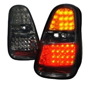 Mini 05-06 Mini Cooper Led Tail Lights Smoke Lens