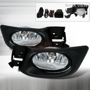 Honda 2003-2004 Honda Accord 4Dr Oem Style Fog Lights/ Lamps-d