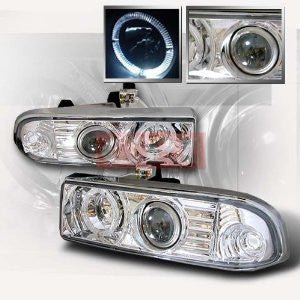 CHEVROLET/CHEVY 1998-2001 S10 PROJECTOR HEAD LAMPS/ HEADLIGHTS - CC 1 SET RH&LH   1998,1999,2000,2001