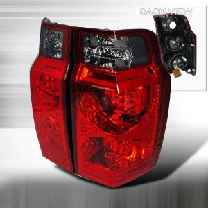 Jeep 2006-2007 Jeep Commander Led Tail Lights /Lamps - 1 Set Rh&Lh Performance 2006,2007